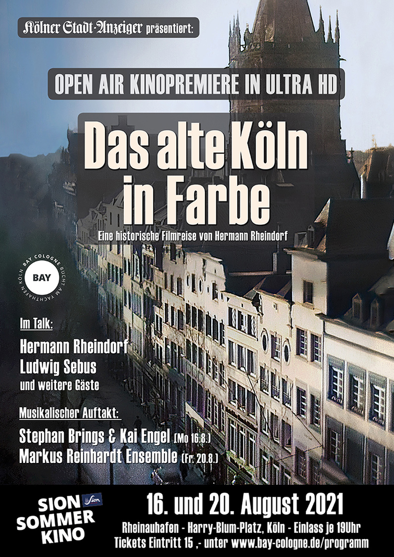 Das alte Köln in Farbe